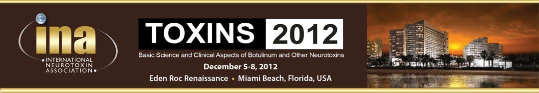 TOXINS 2012 Banner